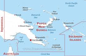 Map of papua new guinea [Source: free world maps]