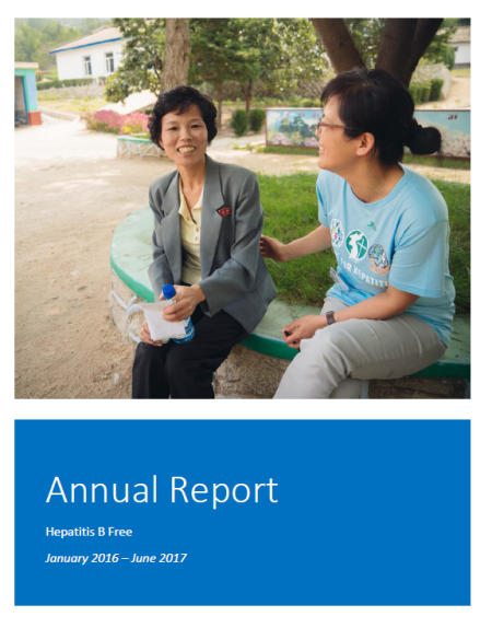 Annual report cover photo